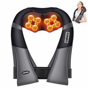 TAKRINK Masseur à Cou Épaule Appareil de Massage Électrique Massage de Mode Compression Digitale Direction et Vitesse Réglables Ajuster Corps