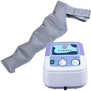 Utile Compression d'air Massager Machine pour la taille, la jambe, le veau et le bras détente la circulation sanguine pour le massage de la circulation de veau et du pied 3 modes Fonction de synchroni