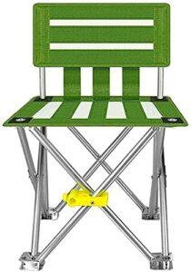 YGCBL Chaise extérieure, Chaise Pliante Confortable, Chaise de Camping Respirant à l'usure, Chaise de Jardin, Chaise Pratique, 4065cm (Color : 40 * 65cm)