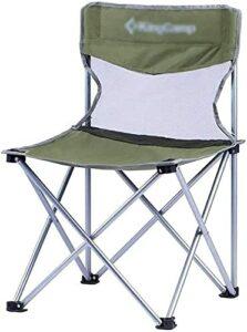 YGCBL Chaises de Camping Plier Tabouret de pêche Pliante Siège Résistant à l'usure Facile à Nettoyer Fauteuil de Chaise Adulte Chaise d'extérieur, Bleu (Color : Green)