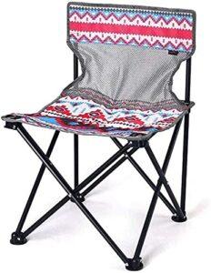 YGCBL Siège de Jardin, épaissir selles de pêche pli Robustes imperméables Nonslip Chaise extérieure Chaise Pliante de Camping Chaise de Camping, b (Color : A)