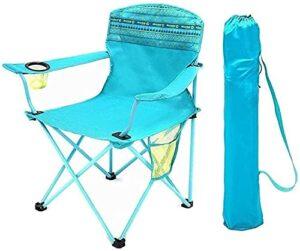 YGCBL Tabourets de Camping Chaise de Plage, Confortable Chaise extérieure Respirante Facile à Conserver Chaise Pliante Chaise de Pique-Nique Chaise de Voyage, a (Color : A)