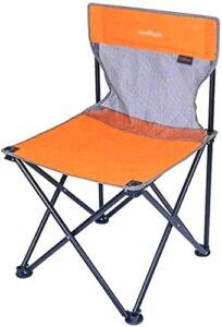 YGCBL Un Barbecue Chaise de Pique-Nique, Chaise du réalisateur Portable Chaise Pliante Confortable Chaise de Camping Respirant à la Chaise extérieure Pliante Rapide, 7 5CM Bleu