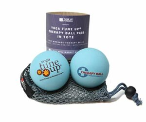 Yoga Tune Up Jill Miller's Therapy Balls Aqua Blue by Yoga Tune Up