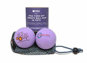 YOGA TUNE UP Thérapie Deep Purple Balls, rouleau Modèle Méthode balles d'auto-massage pour améliorer la mobilité, soulager la douleur, soulager le stress