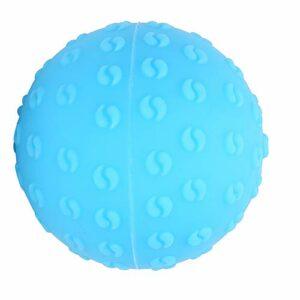 Boule de massage Fascia, forte massothérapie Ballon de silicone à billes avec une sensation de main de gel de silice pour la main de l'épaule du corps
