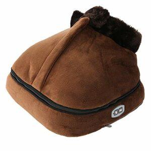 Chauffe-doot chauffant, masseur de pieds pratique, sûr à utiliser, protection de l'environnement pour le massage(Réglementation européenne, Traduire)