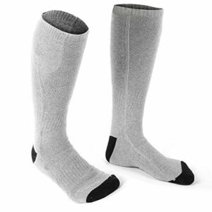 Chaussettes chauffantes en coton doux pour homme et femme – Pratiques, résistantes à la transpiration et respirantes – Pour homme et femme
