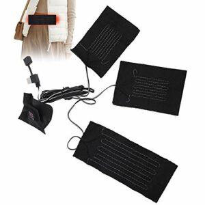 Coussins chauffants électriques, feuille chauffante électrique Coussin chauffant chauffant électrique imperméable, pour la randonnée, le camping