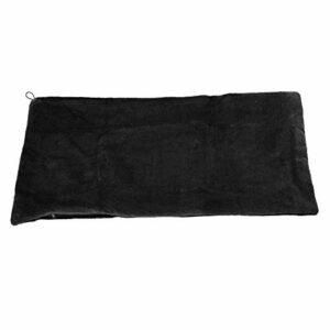 Couverture chauffante confortable, charge USB châle chauffant coussin chauffant respirant garder au chaud rapidement avec câble USB pour la maison pour enfant pour l'hiver pour les femmes(le noir, 12)