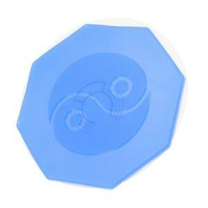 DOITOOL Coussin chauffant en silicone pour dos, taille, résonance énergétique, patch chauffant portable pour épaules, jambes, cou, dos, cervical, taille – Bleu