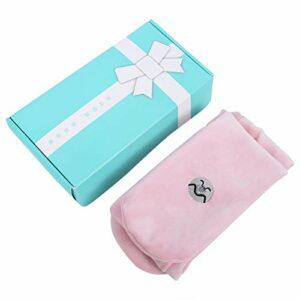 Écharpe de cou chauffante, écharpe de cou Écharpe de cou électrique pour réduire la fatigue pour la mode(Rose)