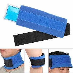 Enveloppe de glace de soulagement de la douleur, enveloppe de gel réutilisable, maux de tête pour entorse maux de dents cou arthrite légère genou poignet coude tête