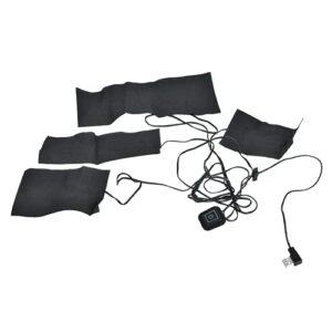 FECAMOS 5V 2A USB, Coussin Chauffant léger et Durable Coussin Chauffant électrique à la Taille Portable avec Chauffe Rapidement pour Le soulagement des crampes