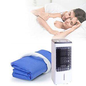 HRTX Refroidisseur de Matelas, Matelas à Eau de Refroidissement, Faible Consommation D'énergie, 40dB Portable, Adapté à la Maison et Au Bureau en Extérieur,Single