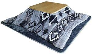 JINCAN Table de chauffage Tatami Kotatsu Table avec chauffage et couverture Tables Kotatsu Kotatsu Pliant japonais Pliant Tatami Coffee Café Épaissie Four Épaissement Rôti Cuisinière Quatre ensembles,