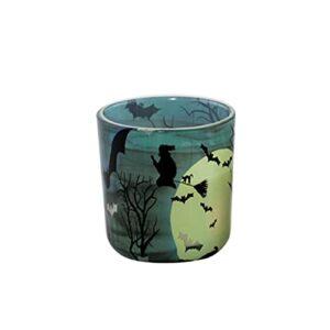 Lurrose Aromathérapie Bougie 30H Temps de Combustion Parfum Cire Cire Parfumée Gel Bougie pour Halloween Partie Chambre