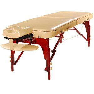 Master Massage Monroe Table de massage portable Crème 70 cm