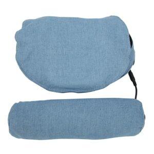 Oreiller de massage du cou, oreiller de massage Massage du cou Réglage gratuit 3 modes pour l'épaule pour les jambes(bleu, Traduire)