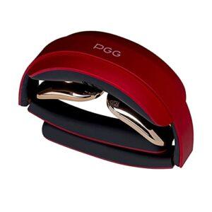 oshhni USB Rechargeable Électrique Cervicale Neck Massager Portable Épaule Muscle Relax Massager 5 Modes – Red