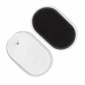 Patch d'électrode confortable, qualité sanguin de qualité Matériau de silicone Pièces de corps Pays de remplacement Pays de rechange Gel de silice fabriqué pour l'épaule à cols Instrument de