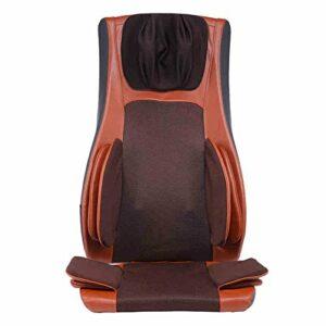 QRFDIAN Massage par pétrissage du cou, épaule et coude   Coussins de massage pour tout le corps, chaise pour maison, par coussin   8- chauffage par coussin de massage par vibration électrique   – nuqu