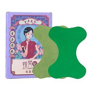 skrskr Lot de 12 pièces de patchs anti-douleur pour le soulagement de la douleur du corps des articulations du bras, des patchs de plantes naturelles en tissu non tissé