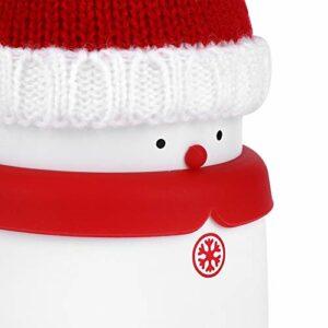 Socobeta Chauffe-mains portable à transporter rechargeable pour la maison ou le bureau (rouge, type tour pensée)