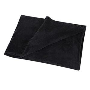TTSEFW Warm Electric Blanket Shawl Couverture Électrique Alimentée par USB, Couverture Chaude Lavable, Couverture De Sieste pour Le Bureau Et La Maison120×80CM(Le Noir)