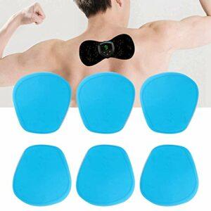 Weikeya Patch de Masseur Cervical approprié, 6pcs / 3bag, 2pcs / 1bag Vibration Muscle Relaxation Faite de Gel