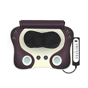 WGHH Chaise de Massage électrique Portable chauffée avec des nœuds 6Rolling – Détendez-Vous, Relief Douleur du Dos et Douleur Musculaire – Maison, Bureau, Utilisation de la Voiture