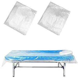 ZFAZF 90/180 pcs Draps Lit Jetables Couverture canapé Massage jetable, Couvre draps cosmétiques,Tables Massage Drap lit pour Salon beauté, Massage, Tatouage, hôtels