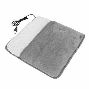 Coussin chauffant pour les pieds USB, coussin chauffant pour les pieds doux et non irritant pour le bureau à domicile