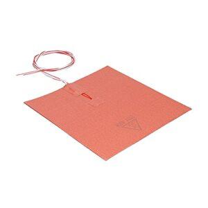 CUTULAMO Coussin Chauffant en Silicone, Transfert de Chaleur Uniforme Portable pour imprimante 3D, lit Chauffant Durable, Faible consommation d'énergie, Facile à Utiliser pour Couplage