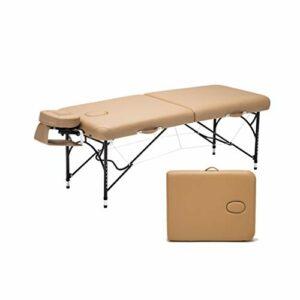 Gaoyuhong anmochuang LJHA Aluminium Massage Lit, Maison Portable et Confortable Réglable Chaise de Massage, Convient pour La Beauté Acupuncture Tattoo Tables de Massage (Color : Style 2)