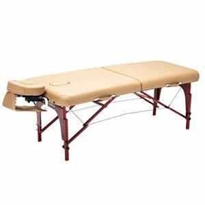 Gaoyuhong anmochuang LJHA Lit De Massage Massage Pliant Portable Accueil Moxibustion Tatouage Beauté Élargissant Lit De Physiothérapie Tables de Massage (Color : Style2)