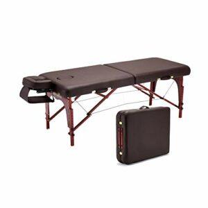 Gaoyuhong anmochuang LJHA Lit Pliant Massage, Reiki Portable Spa Canapé-lit Accueil Moxibustion Bed Physiothérapie Élargir Tables de Massage (Color : Style2)
