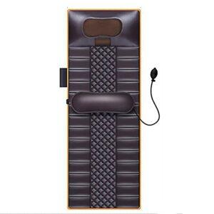 G-FLOOR-MAT Massage du Dos avec 20 Têtes De Massage Shiatsu Pétrissage du Cou Chaise De Massage du Corps Couverture Matelas Coussin Coussin Chauffant