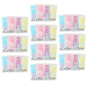 Hemoton Lot de 40 patchs de refroidissement pour la fièvre, compresses légères pour soulager les maux de tête, les migraines, les maux de dents, la fatigue, les coups de soleil pour bébé