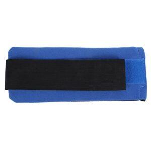 Hemoton Sac de glace portable réutilisable pour réfrigérant, blessures, dos, bras, genoux, pieds – Bleu