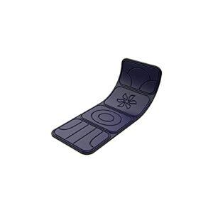 KSDCDF Tapis de massage de mémoire avec chaleur, tampon chauffant de thérapie, moteurs de vibration Matelas de massage Tampon de massage, coussin de masseur complet Soulez le cou, le dos, la taille, l