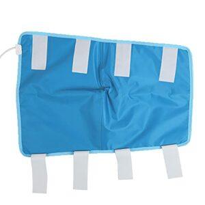 Nettoyer le coussintage de joint de genou, une ou deux fois par jour de chauffage électrique