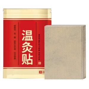 Patch de moxibustion, patch d'absinthe 20 pièces/boîte autocollants de moxibustion d'absinthe Moxa autocollants pour la taille dos poignets, genoux et pieds