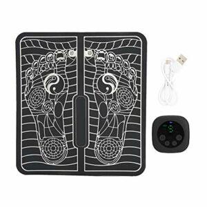 Tampon de massage de pied, en cuir et ABS Button conçoit la circulation des pieds de pointe d'acupuncture