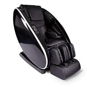 Worth having – SL Fauteuil inclinable de chaise de massage de piste, chaise de massage corporel avec étirement thaïlandais, zéro gravité, haut-parleur Bluetooth, airbags et massage des pieds thaïlanda