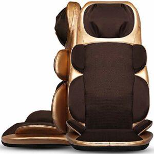 ZHJBD Worth Having – Masseur de Back chauffé chauffé électrique, mairie Profonde Chaise de Massage pour épaules, Dos, Pieds supérieurs, Rabat au Dos de Coussin